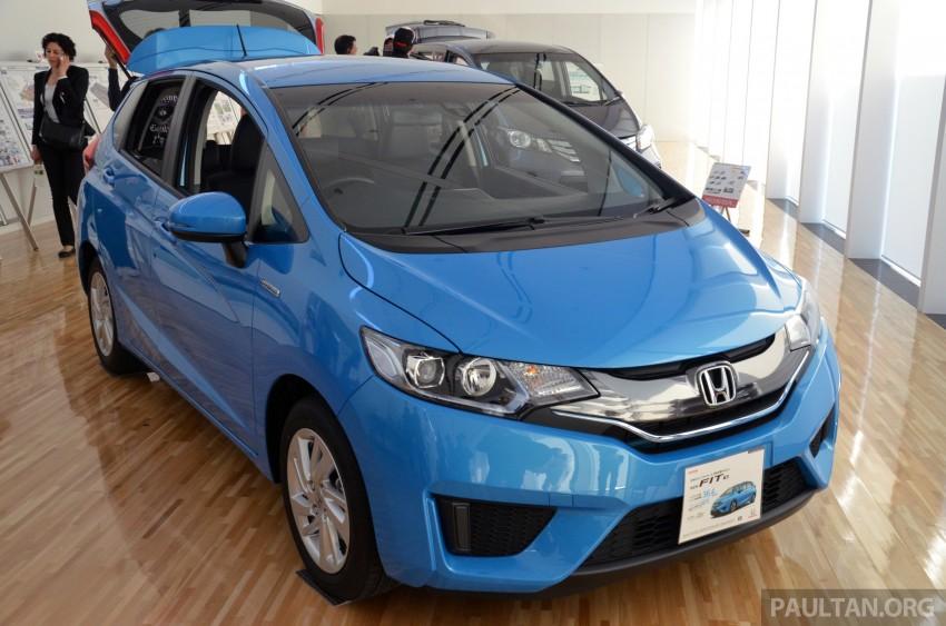 GALLERY: Honda Jazz Hybrid at new Yorii plant Image #211561