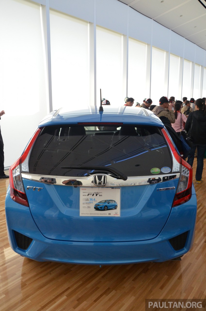 GALLERY: Honda Jazz Hybrid at new Yorii plant Image #211563