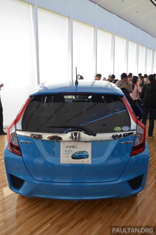 GALLERY: Honda Jazz Hybrid at new Yorii plant Image #211563