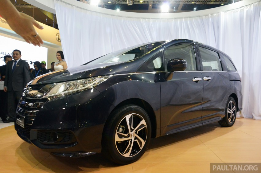 2013 Honda Odyssey launched – RM228k to RM248k Image #209654