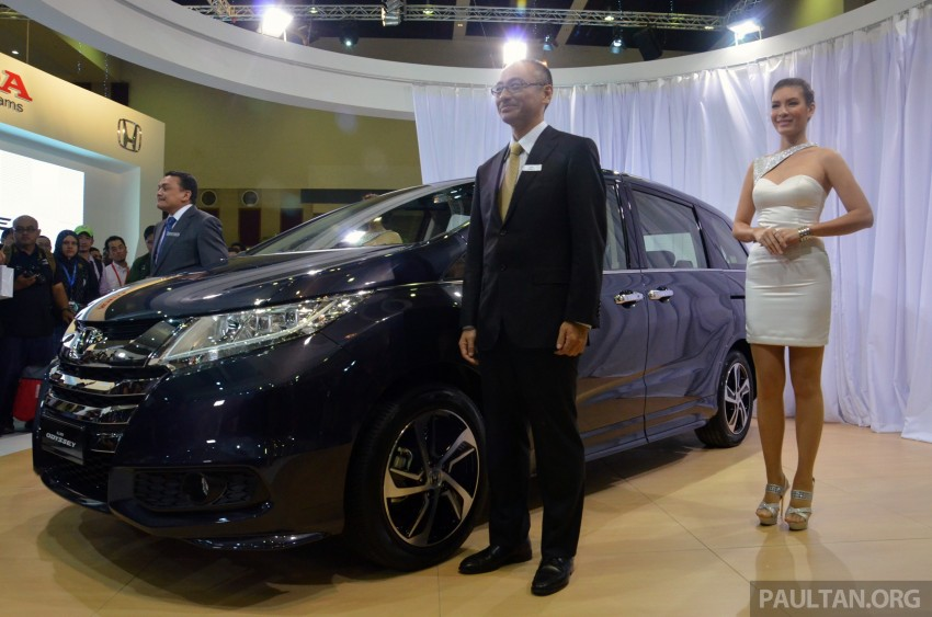 2013 Honda Odyssey launched – RM228k to RM248k Image #209655