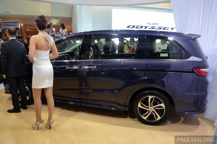 2013 Honda Odyssey launched – RM228k to RM248k Image #209659