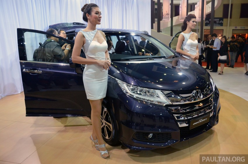 2013 Honda Odyssey launched – RM228k to RM248k Image #209665