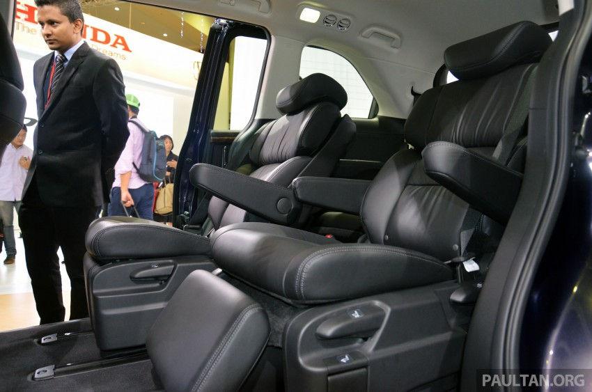 2013 Honda Odyssey launched – RM228k to RM248k Image #209683