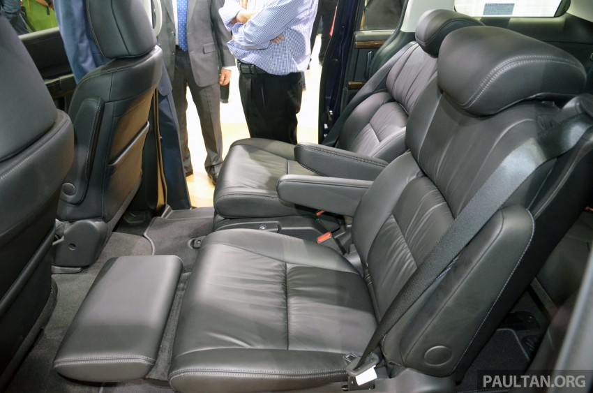 2013 Honda Odyssey launched – RM228k to RM248k Image #209685
