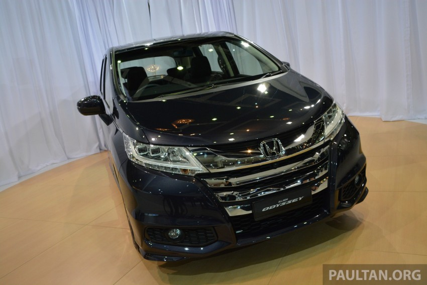 2013 Honda Odyssey launched – RM228k to RM248k Image #209718