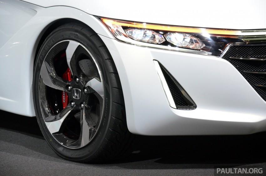 Tokyo 2013: Honda S660 Concept makes debut Image #212658
