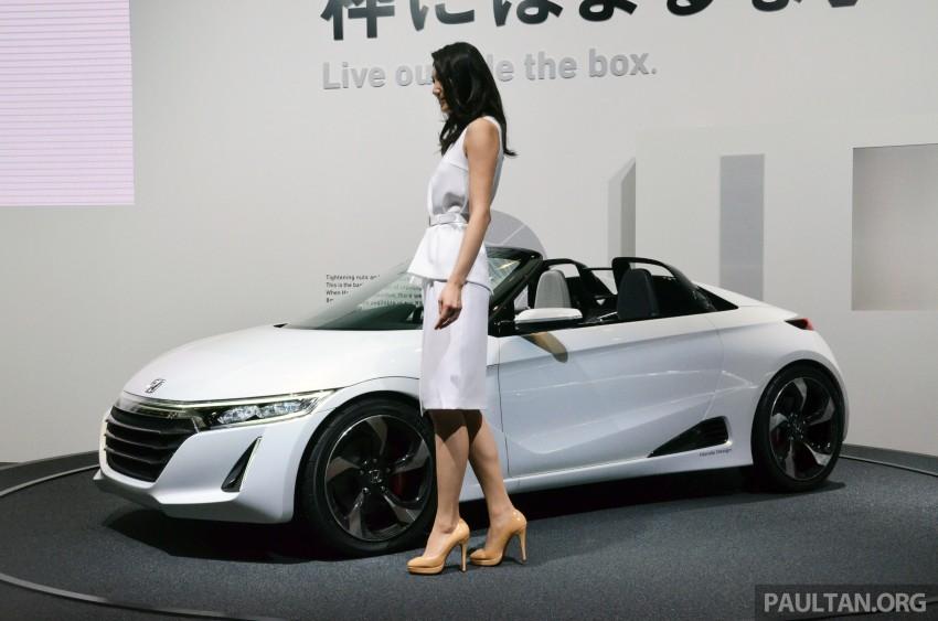 Tokyo 2013: Honda S660 Concept makes debut Image #212662