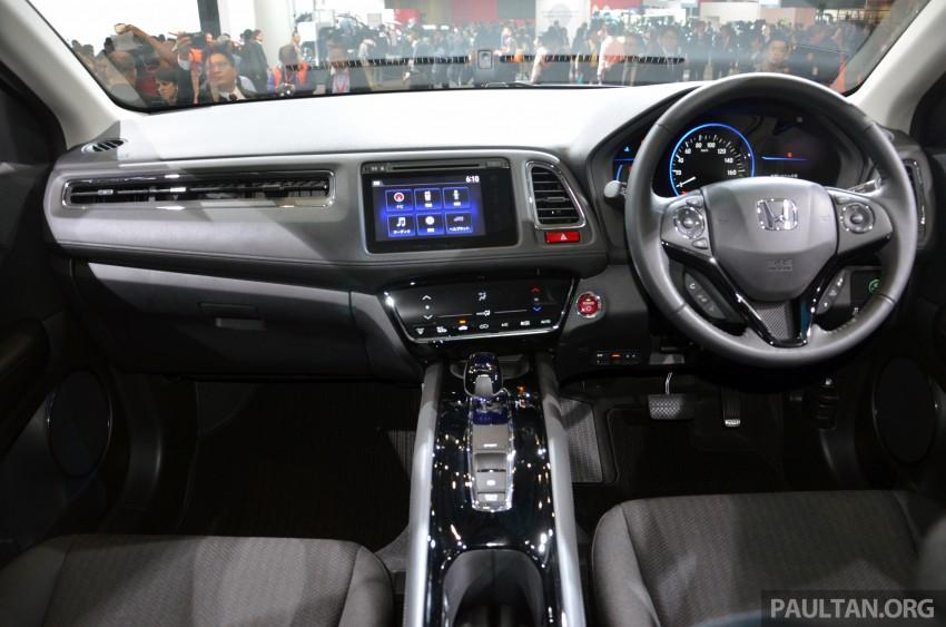 Honda Vezel – Jazz-based SUV debuts in Tokyo Image #212082