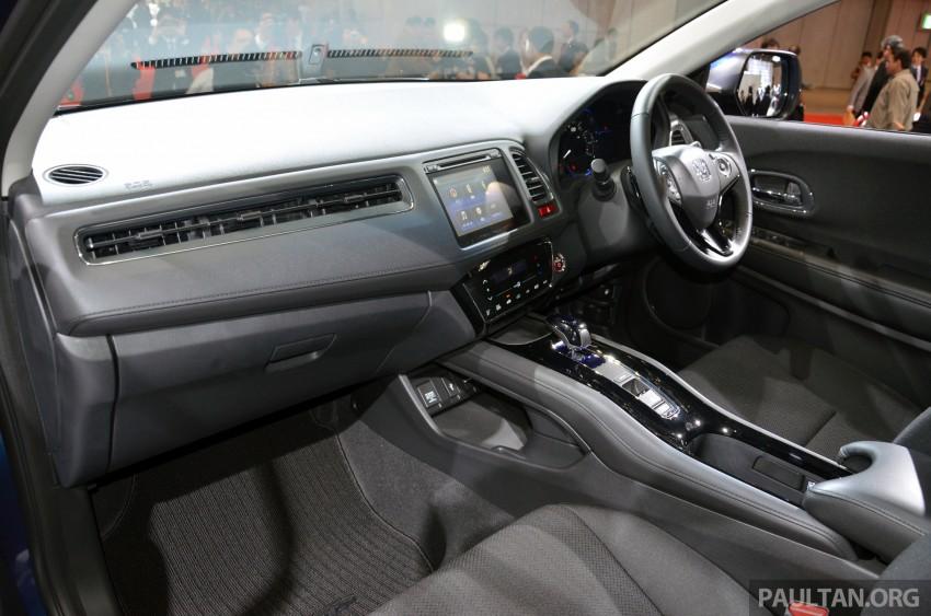 Honda Vezel – Jazz-based SUV debuts in Tokyo Image #212087