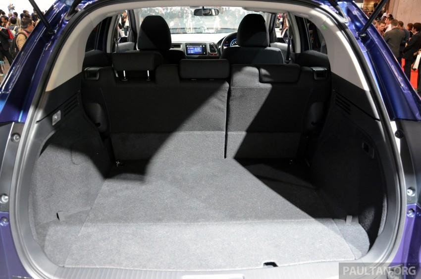 Honda Vezel – Jazz-based SUV debuts in Tokyo Image #212098