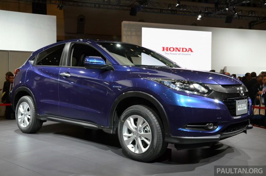 Honda Vezel – Jazz-based SUV debuts in Tokyo Image #212029