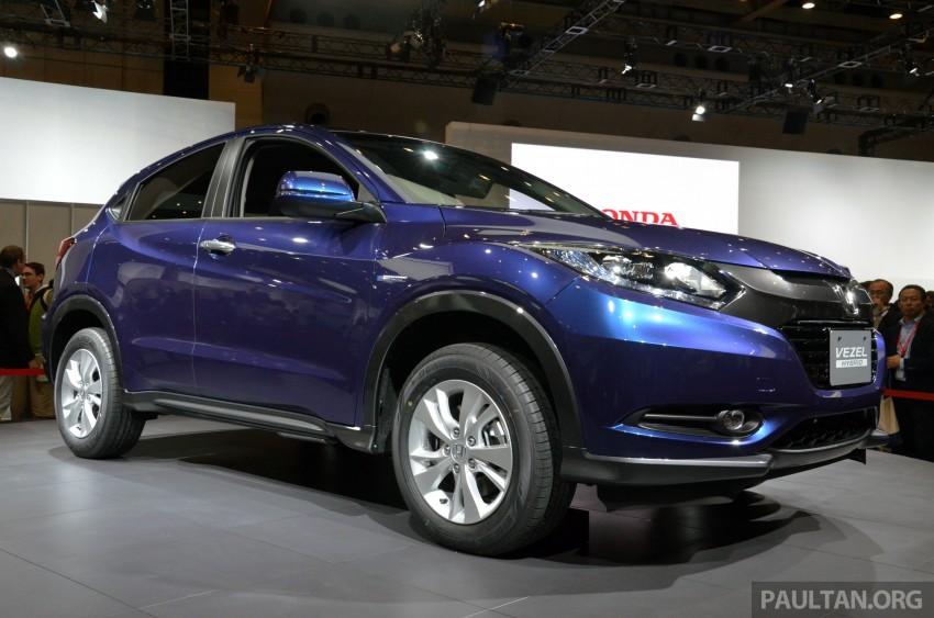 Honda Vezel – Jazz-based SUV debuts in Tokyo Image #212031