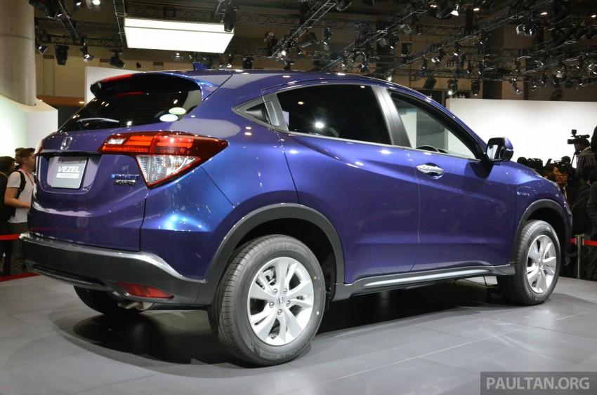 Honda Vezel – Jazz-based SUV debuts in Tokyo Image #212035