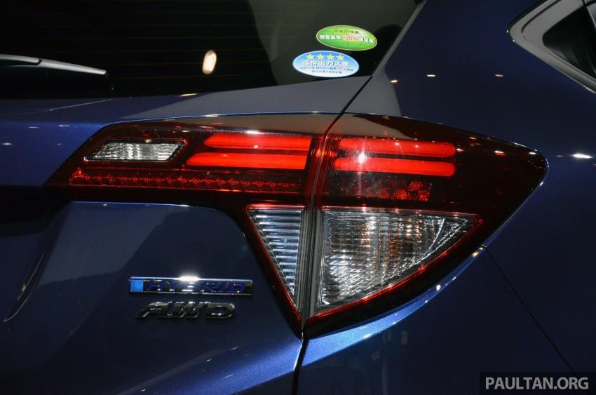 Honda Vezel – Jazz-based SUV debuts in Tokyo Image #212036
