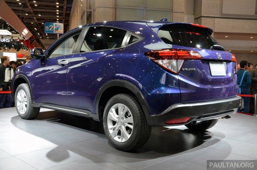 Honda Vezel – Jazz-based SUV debuts in Tokyo Image #212039