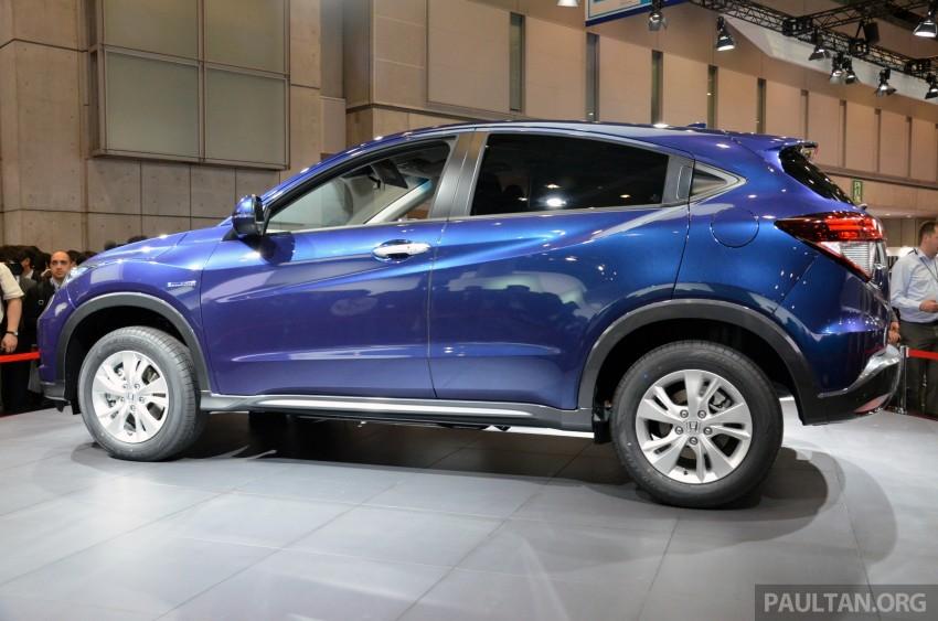 Honda Vezel – Jazz-based SUV debuts in Tokyo Image #212040
