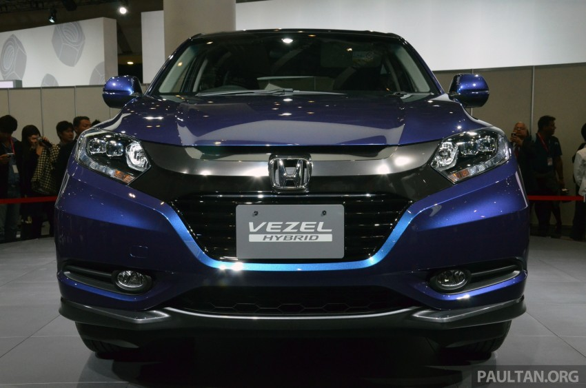Honda Vezel – Jazz-based SUV debuts in Tokyo Image #212042