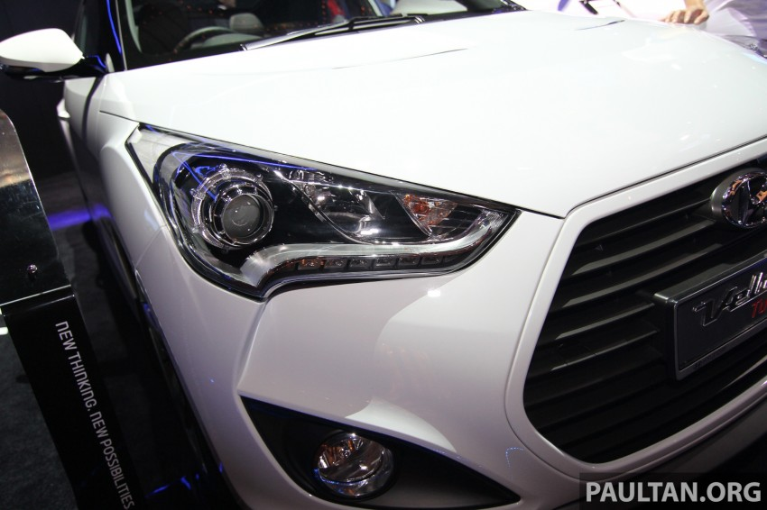 Hyundai i30 hatchback and Veloster Turbo previewed at KLIMS13, both launching in 2014 Image #212629