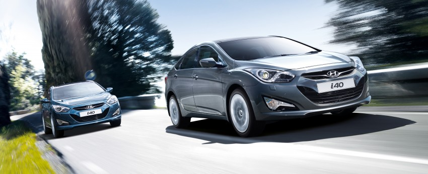 Hyundai i40 Sedan and Tourer launched in Malaysia – duo priced and positioned above the Sonata Image #210266
