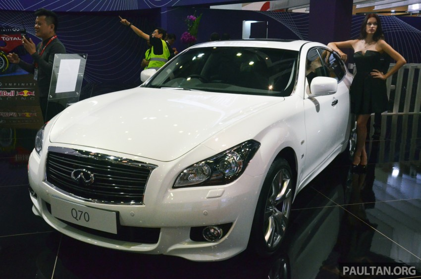 Infiniti Q50 makes Malaysian debut at KLIMS13, prices for new Q and QX line-up released Image #210778