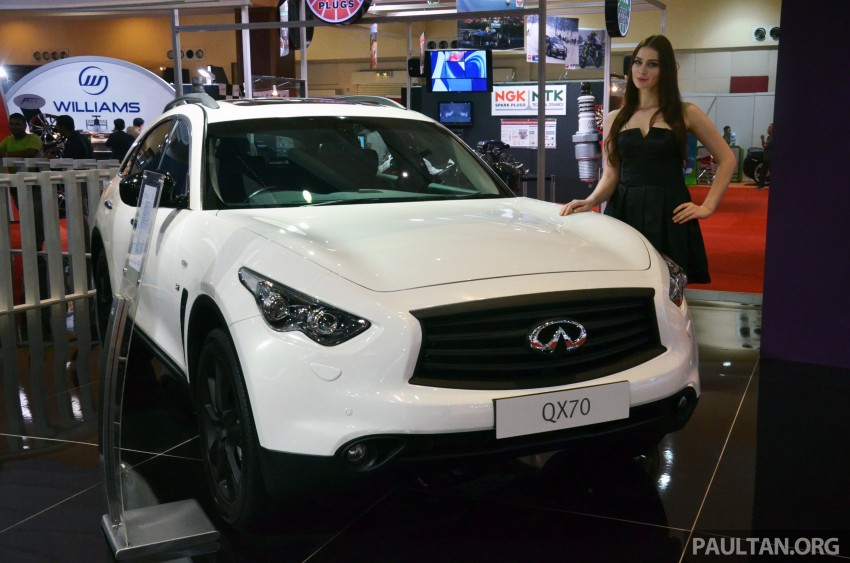 Infiniti Q50 makes Malaysian debut at KLIMS13, prices for new Q and QX line-up released Image #210779