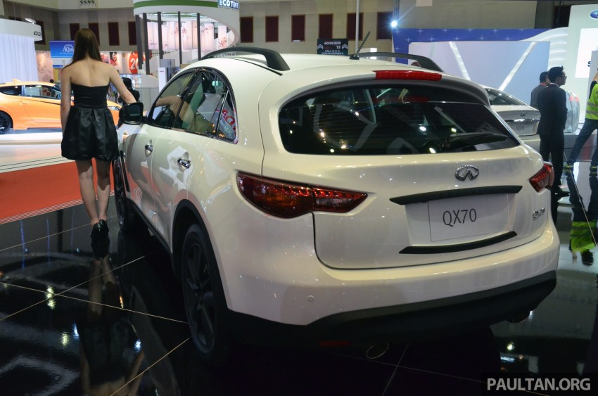 Infiniti Q50 makes Malaysian debut at KLIMS13, prices for new Q and QX line-up released Image #210780