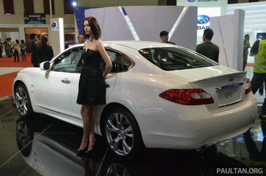 Infiniti Q50 makes Malaysian debut at KLIMS13, prices for new Q and QX line-up released Image #210782