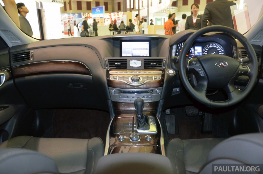 Infiniti Q50 makes Malaysian debut at KLIMS13, prices for new Q and QX line-up released Image #210787