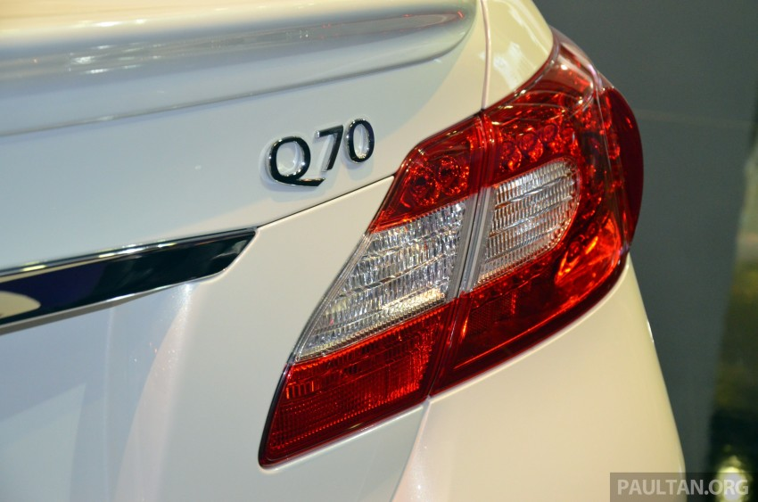 Infiniti Q50 makes Malaysian debut at KLIMS13, prices for new Q and QX line-up released Image #210793