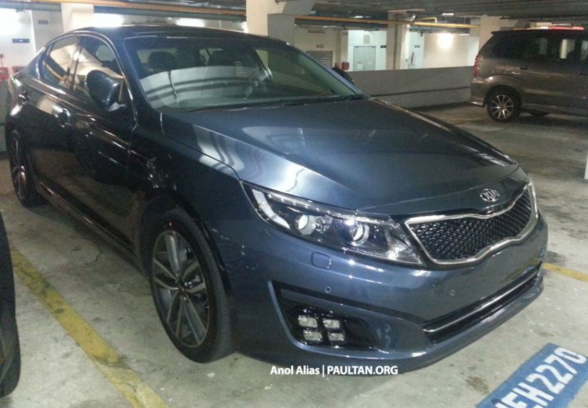 SPYSHOTS: 2014 Kia Optima facelift sighted at JPJ Image #208428