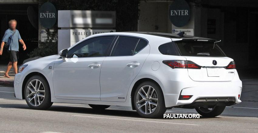 Lexus Ct200h F Sport >> Lexus CT 200h F Sport facelift 100% undisguised Paul Tan - Image 208007
