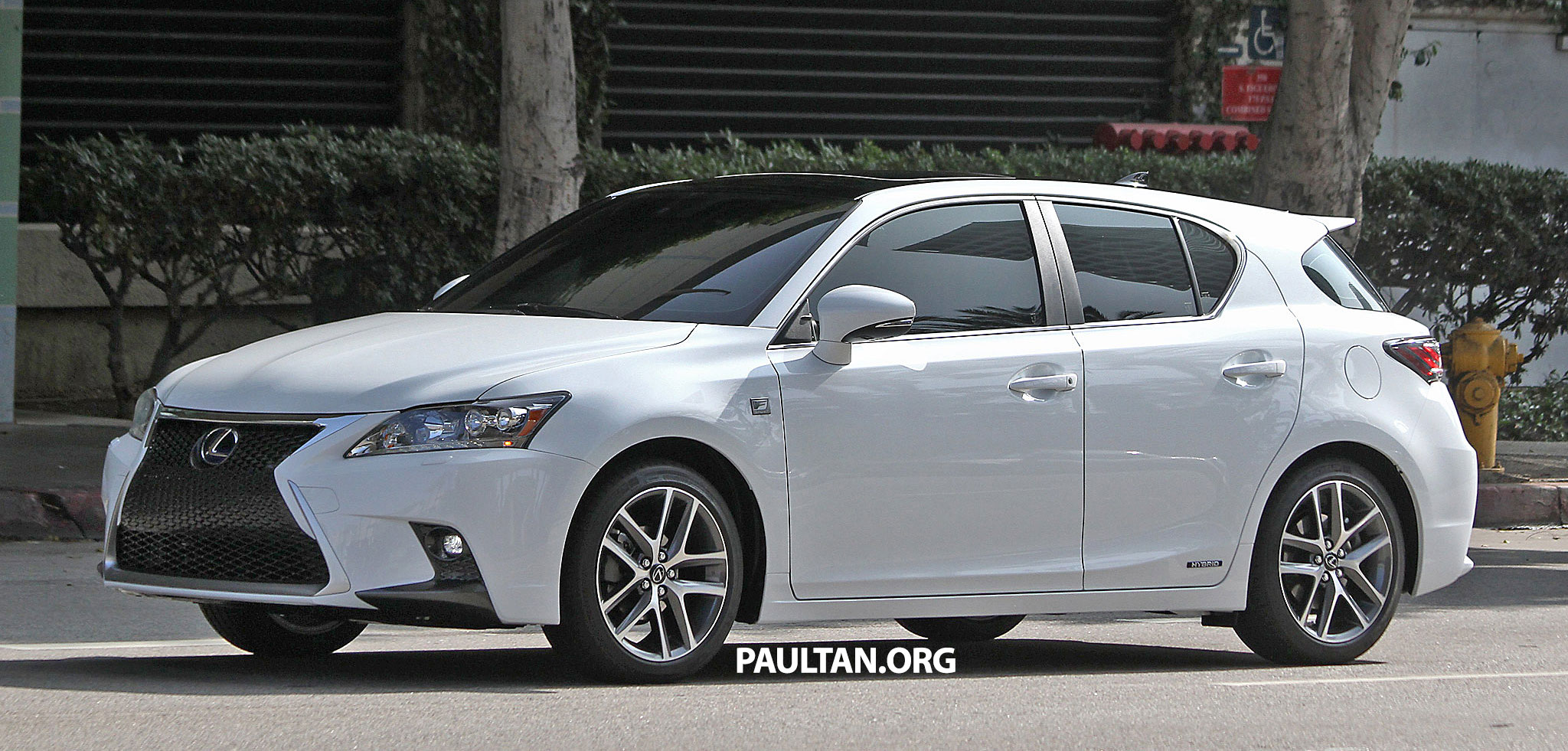 lexus ct 200h f sport facelift 100 undisguised. Black Bedroom Furniture Sets. Home Design Ideas