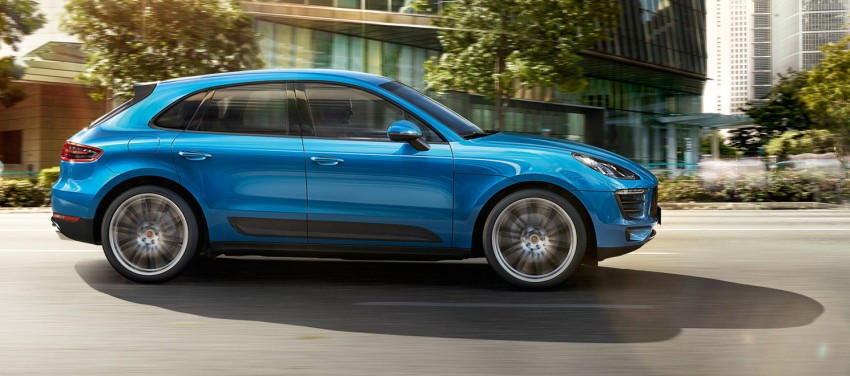 Porsche Macan SUV unveiled in LA with up to 400 hp Image #212347
