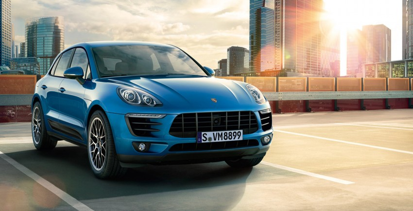 Porsche Macan SUV unveiled in LA with up to 400 hp Image #212345