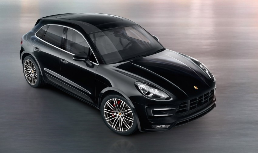 Porsche Macan SUV unveiled in LA with up to 400 hp Image #212344