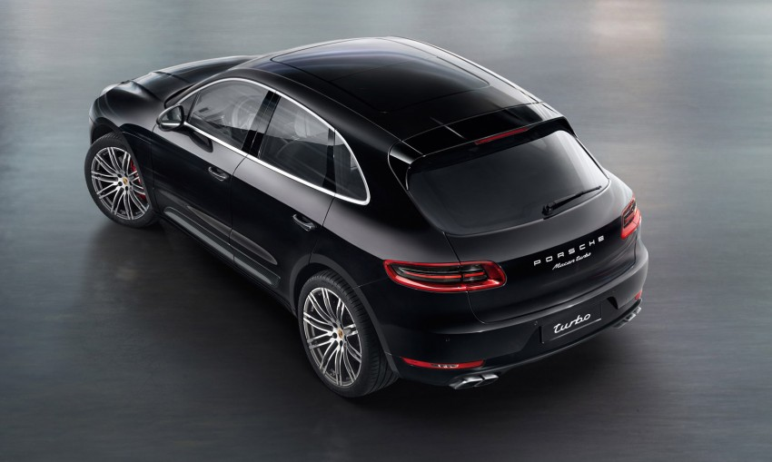 Porsche Macan SUV unveiled in LA with up to 400 hp Image #212343