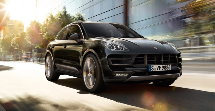 Porsche Macan SUV unveiled in LA with up to 400 hp Image #212341