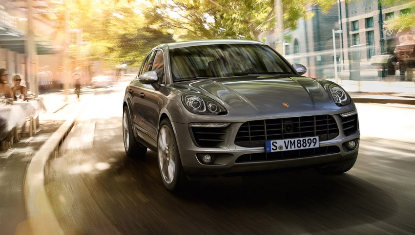 Porsche Macan SUV unveiled in LA with up to 400 hp Image #212339