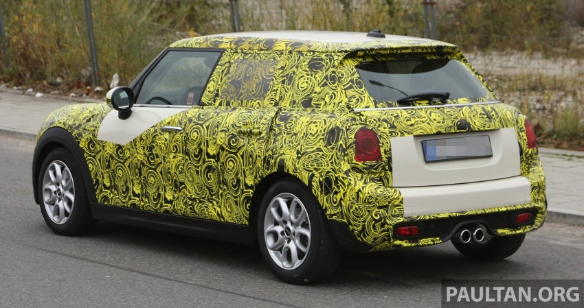 SPYSHOTS: Two new bodystyles for the MINI sighted Image #210156