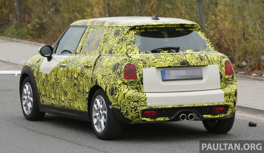 SPYSHOTS: Two new bodystyles for the MINI sighted Image #210151
