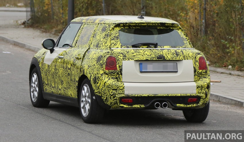 SPYSHOTS: Two new bodystyles for the MINI sighted Image #210153