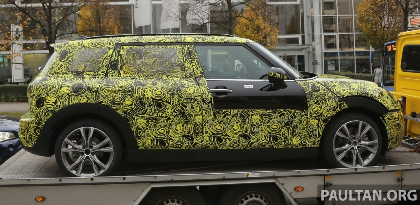 SPYSHOTS: Two new bodystyles for the MINI sighted Image #210181
