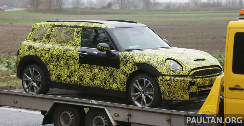 SPYSHOTS: Two new bodystyles for the MINI sighted Image #210172