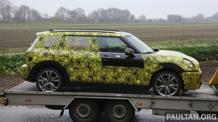 SPYSHOTS: Two new bodystyles for the MINI sighted Image #210171
