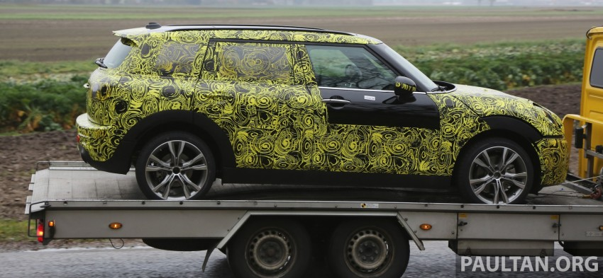 SPYSHOTS: Two new bodystyles for the MINI sighted Image #210170