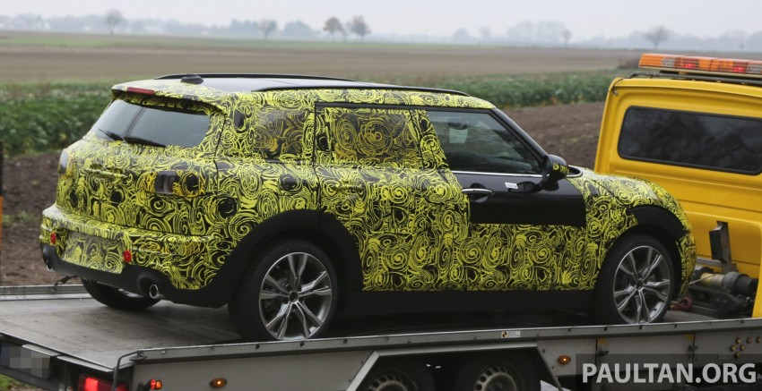 SPYSHOTS: Two new bodystyles for the MINI sighted Image #210167