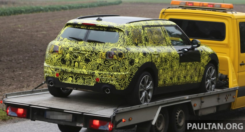SPYSHOTS: Two new bodystyles for the MINI sighted Image #210168