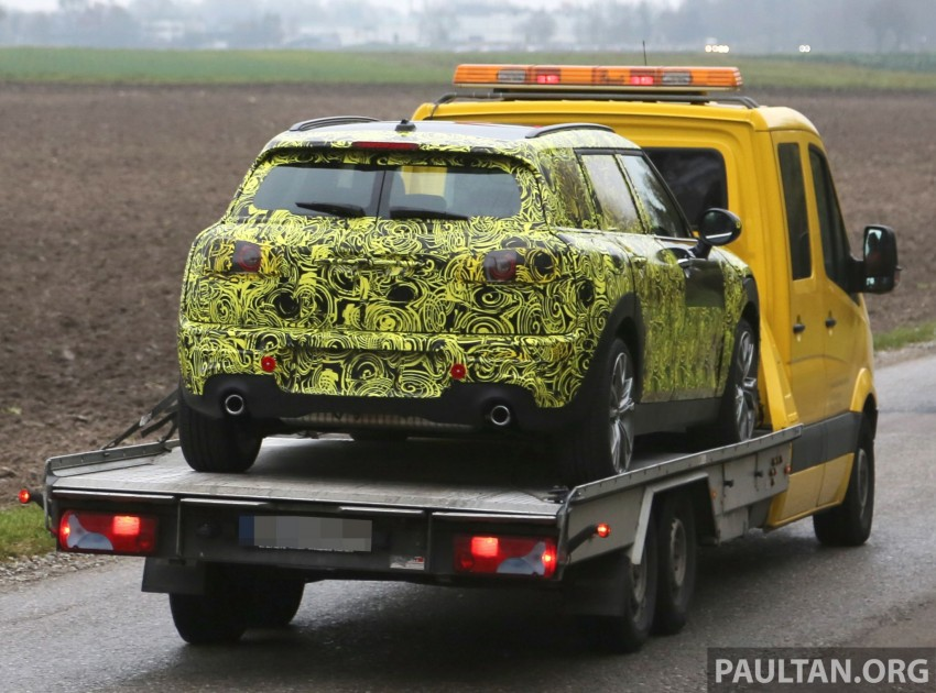 SPYSHOTS: Two new bodystyles for the MINI sighted Image #210169