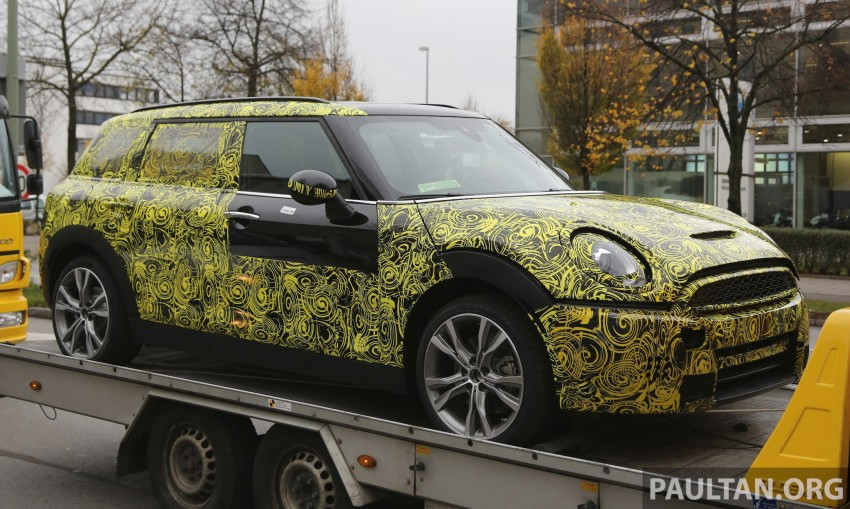 SPYSHOTS: Two new bodystyles for the MINI sighted Image #210180